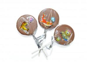 Sucette Chocolat Lait - confiserieriol.com