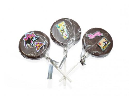 Sucette Chocolat Lait