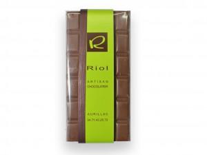 Tablette Chocolat lactée JIVARRA 40 % - confiserieriol.com