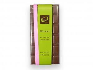 Tablette Chocolat lactée BAHIBE 46 % - confiserieriol.com