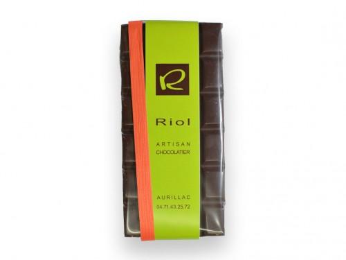 Tablette Chocolat noire KALAPAIA 70 % - confiserieriol.com