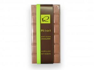 Tablette Chocolat lactée TANARIVA 33% - confiserieriol.com