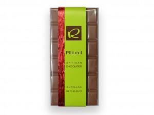 Tablette Chocolat lactée CARAMELIA 36 % - confiserieriol.com