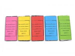 Tablette chocolat avec message personnalisé - 100g - Confiserie RIOL