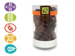 Pot de fritures en chocolat - Confiserie RIOL