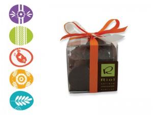 Cube de fritures en chocolat - Confiserie RIOL