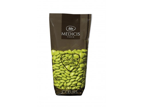 Dragées Petits Coeurs Chocolat Médicis